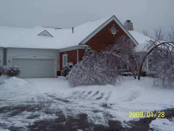 Kimball's Unit After '09 Ice Storm