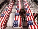 Flag Draped Coffins